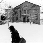 Burnley Weavers Triangle in the Snow - early 1980s