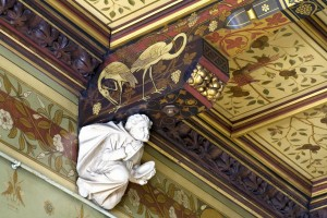 Mayors Parlour Corbel and ceiling detail