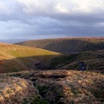 April Showers from Pendle Hill