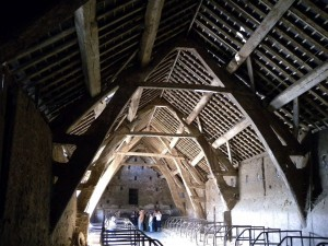 Hall Barns Farm – cruck barn, Stonyhurst