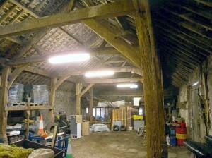 Home Farm Aisled Barn 1600s