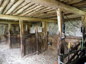 New Close Farm Field Barn stalls1800s
