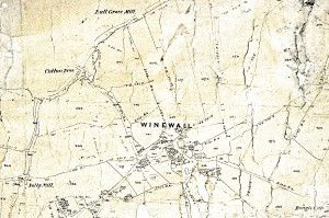LRO 1844-50 Trawden DRB 1-188 Tithe Map 9
