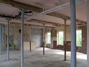 Lomeshaye Bridge Mill unrefurbished floor