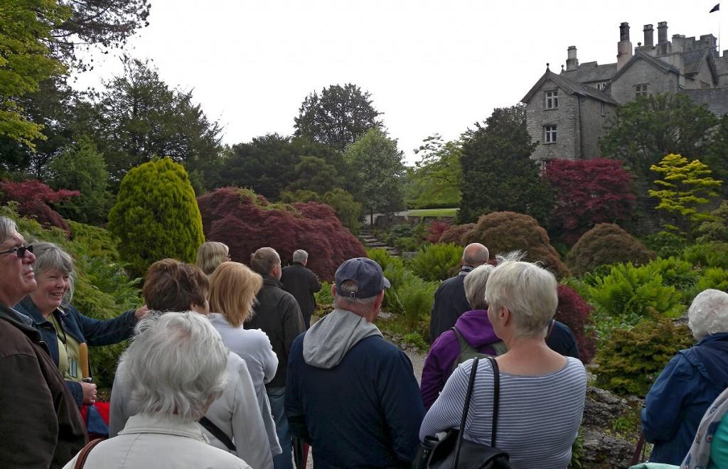 Sizergh Castle Rock Garden 1
