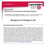 Community Heritage Newsletter - August