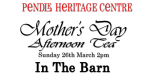 Mother's day Afternoon Tea - Sunday 26th March 2pm - in the Barn