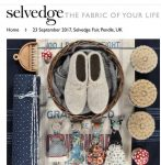 Stunning Selvedge Fair: 23rd September